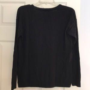 Madewell Sweaters - Madewell Black Crew Neck Sweater Bien Sur EUC